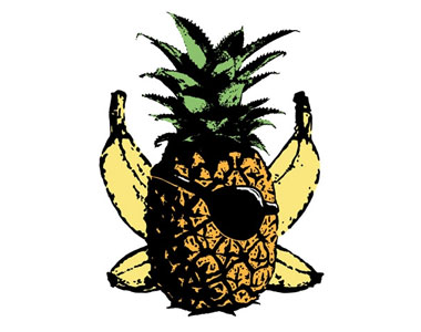 Pineapple-Crossbones