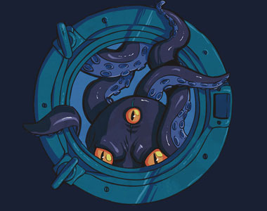 Porthole-Monster