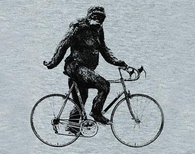 Sasquatch-Cyclist